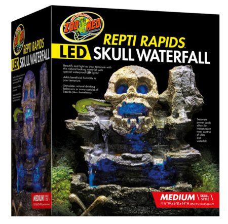Repti Rapids® LED Waterfall - Medium Skull