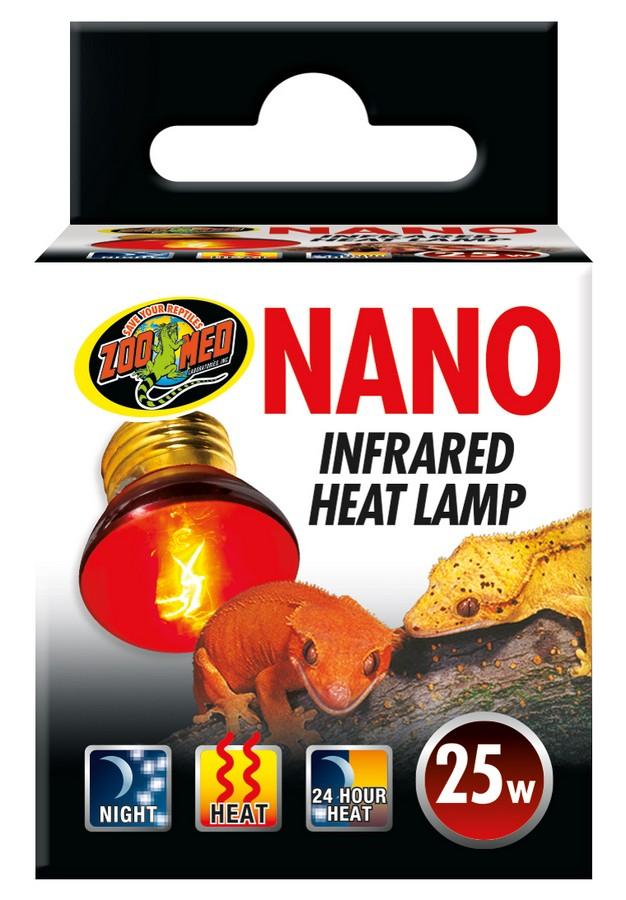 Nano Infrared Heat Lamp Zoo Med Laboratories Inc