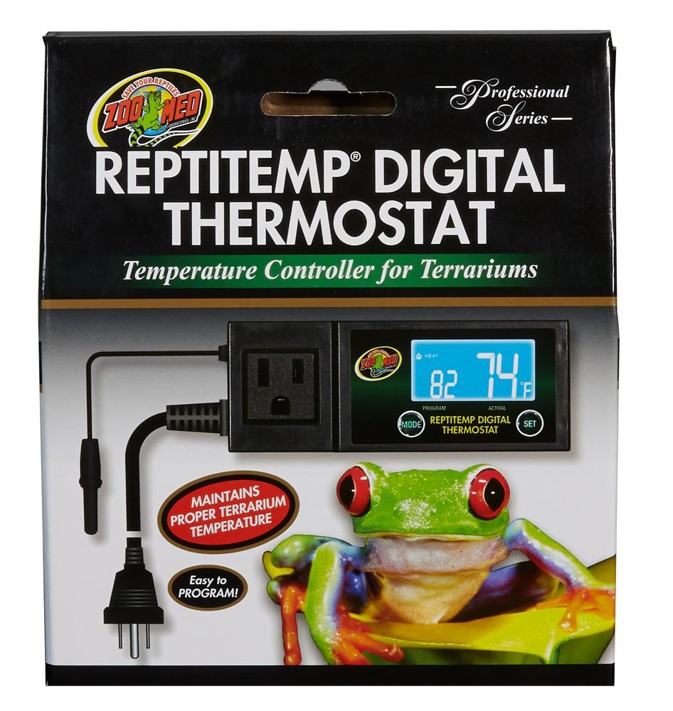 Reptitemp Digital Thermostat Zoo Med Laboratories Inc