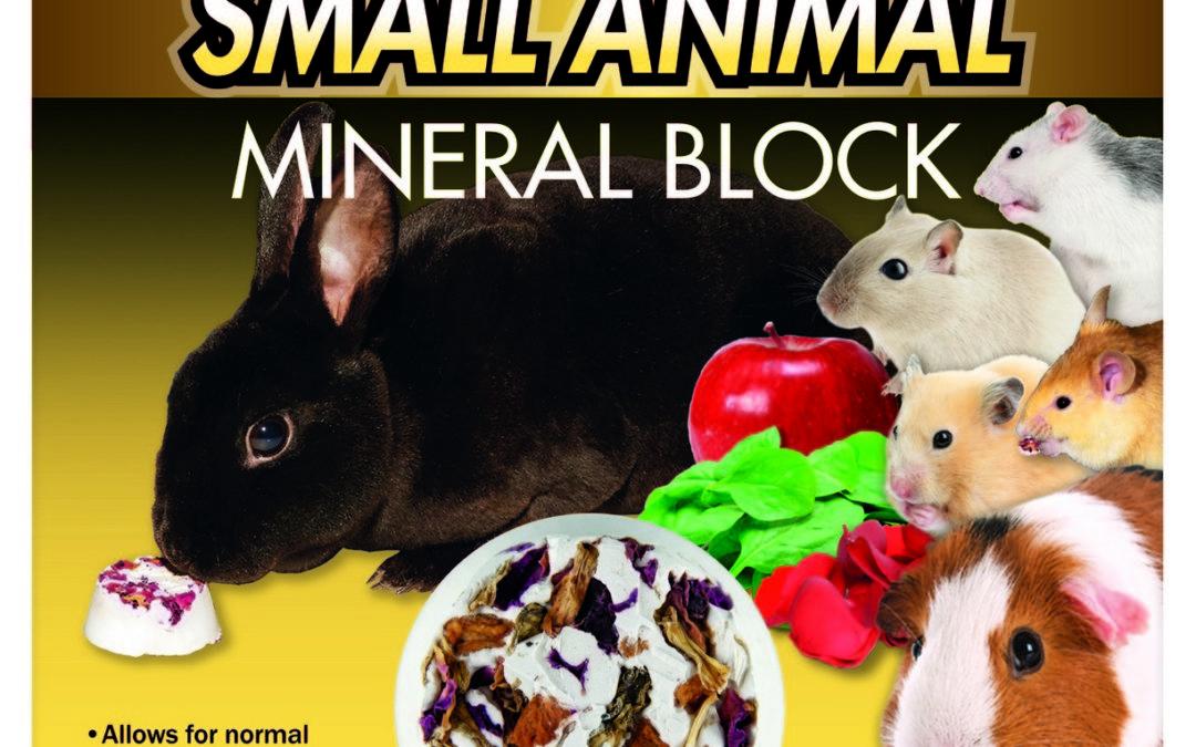 Small Animal Mineral Block
