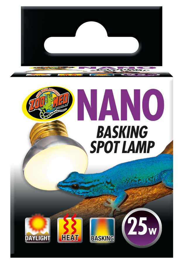 Nano Basking Spot Lamp Zoo Med Laboratories Inc