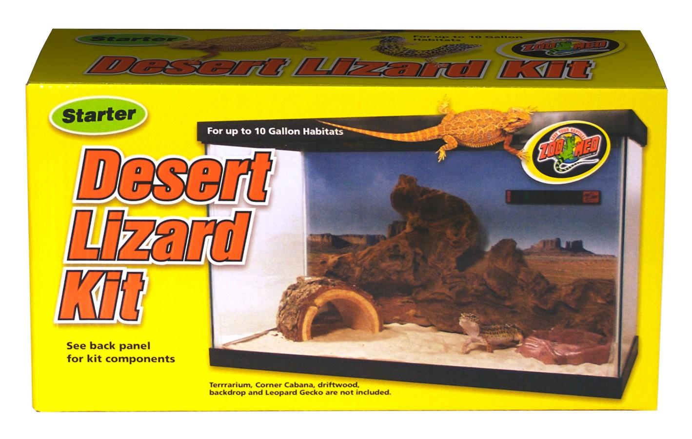 Starter Desert Lizard Kit Zoo Med Laboratories Inc