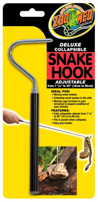 Deluxe Collapsible Snake Hook Zoo Med Laboratories Inc