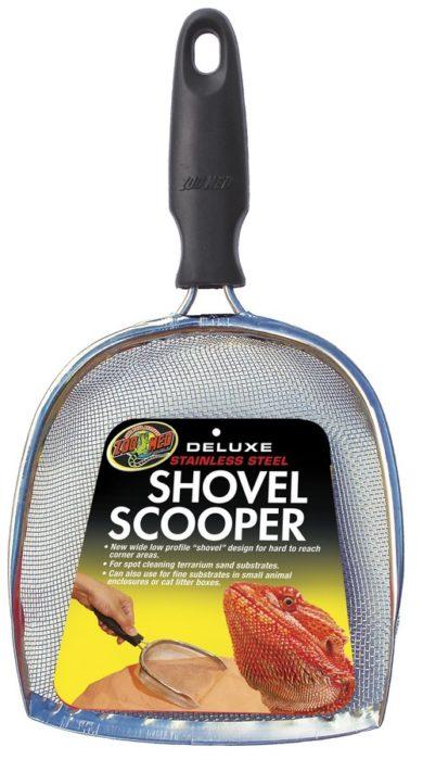 Deluxe Shovel Scooper Zoo Med Laboratories Inc