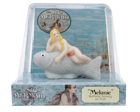 Bathing Beauty on Fish (Melanie)