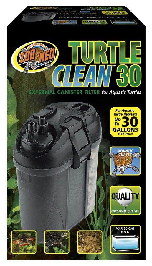 Turtle Clean™ 30 External Canister Filter | Zoo Med ...