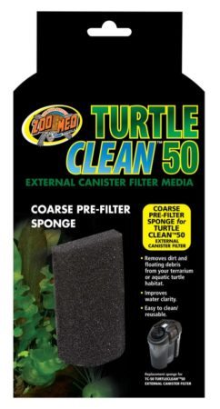 Turtle Clean™ 50 Coarse Pre-Filter Sponge
