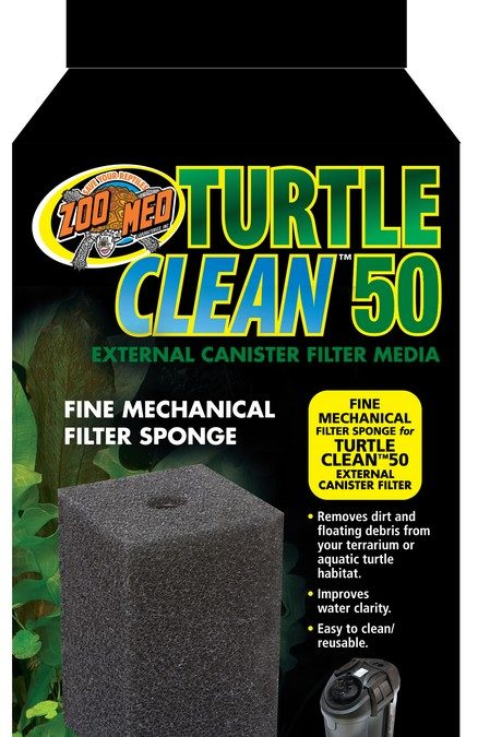 Turtle Clean™ 50 Fine Mechanical Filter Sponge