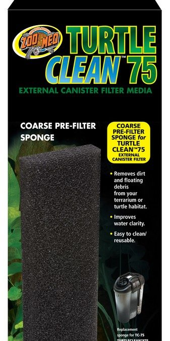 Turtle Clean™ 75 Coarse Pre-Filter Sponge
