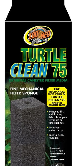 Turtle Clean™ 75 Fine Mechanical Filter Sponge