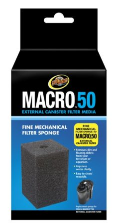 Macro™ 50 Fine Mechanical Filter Sponge