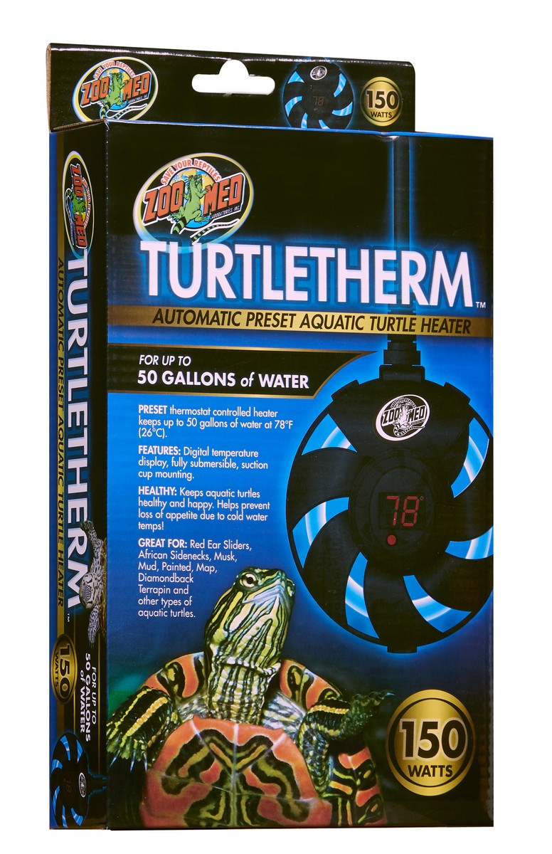 Turtletherm Automatic Preset Aquatic Turtle Heater Zoo