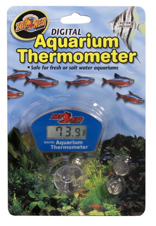 Digital Aquarium Thermometer Zoo Med Laboratories Inc