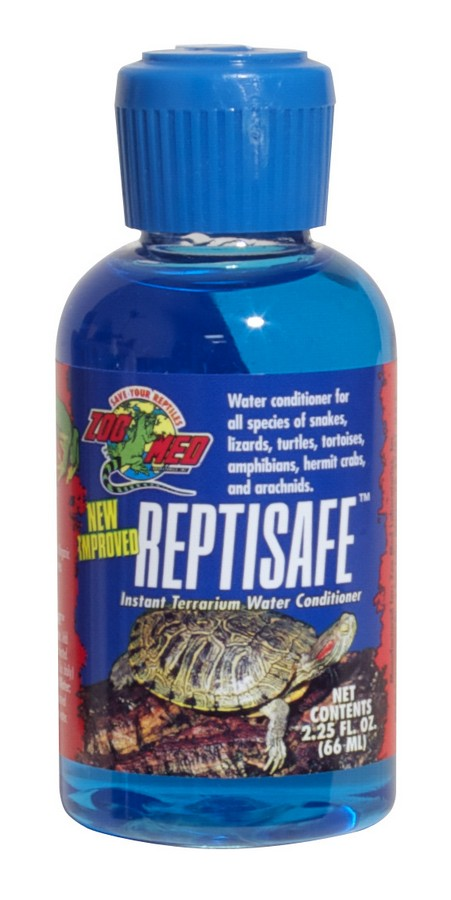 Reptisafe water conditioner zoo med laboratories inc for Dechlorinator for fish