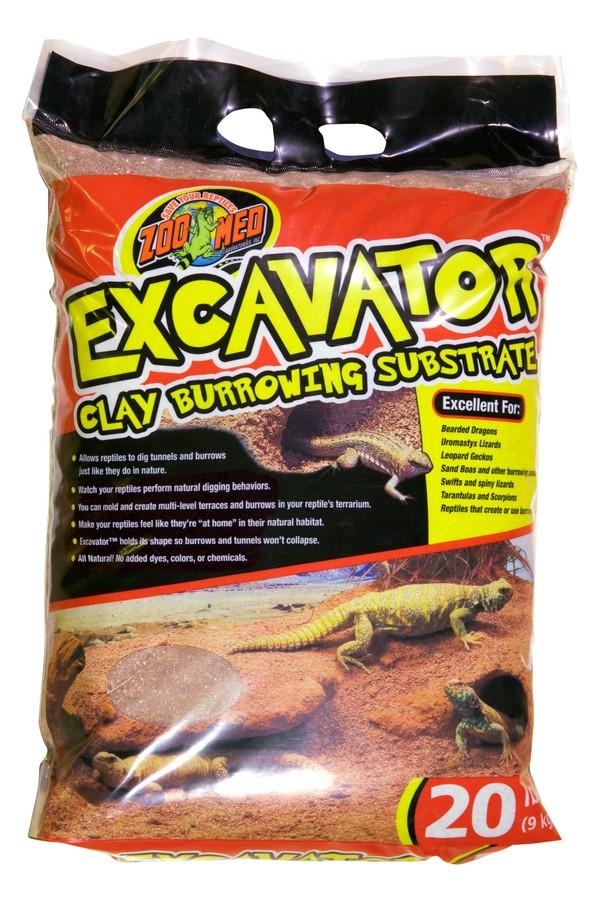 excavator u00ae clay burrowing substrate