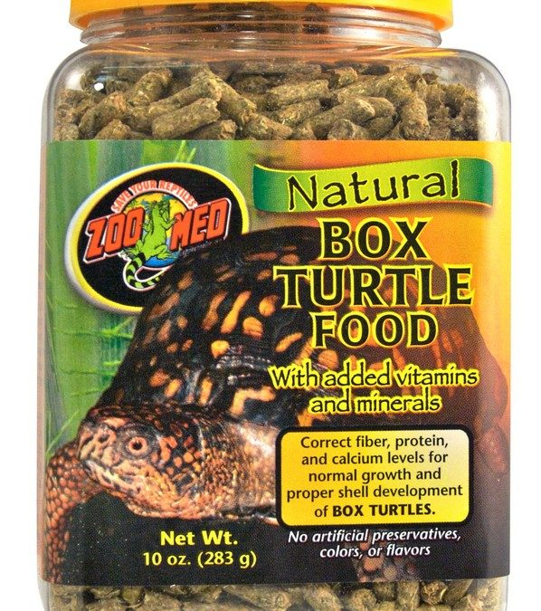 Natural Box Turtle Food