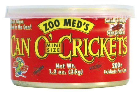 Can O' Mini Size Crickets