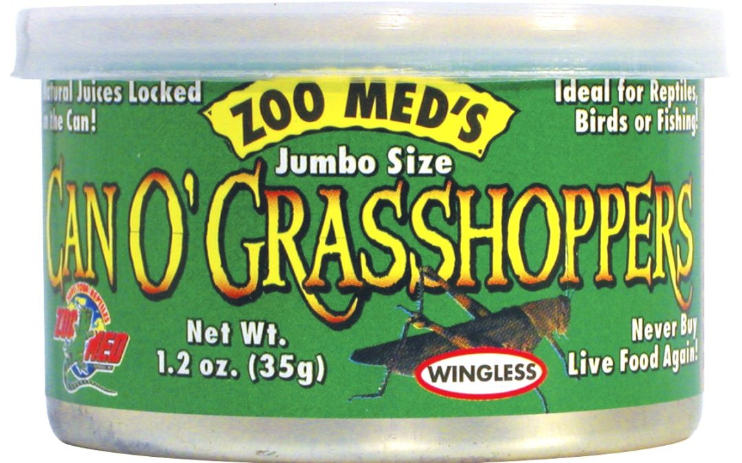 Can O' Grasshoppers