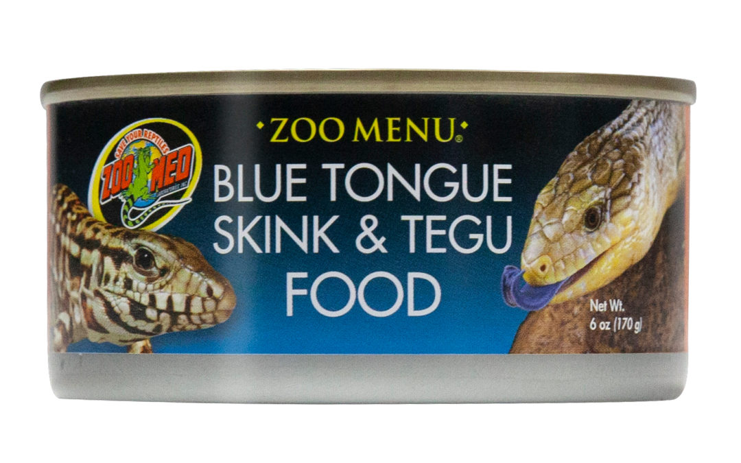 Zoo Menu® Blue Tongue Skink & Tegu Food