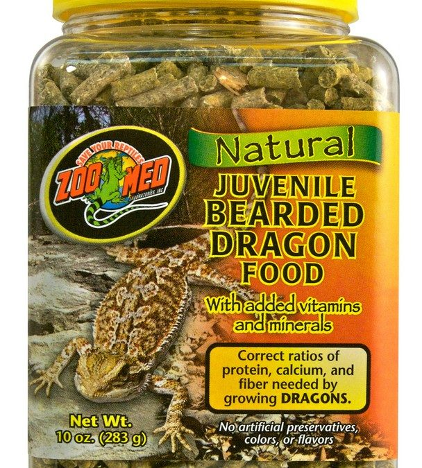 Natural Bearded Dragon Food – Juvenile Formula