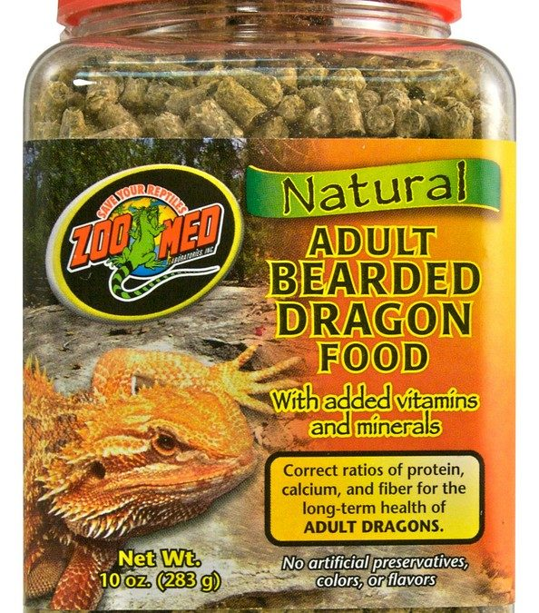Natural Bearded Dragon Food – Adult Formula