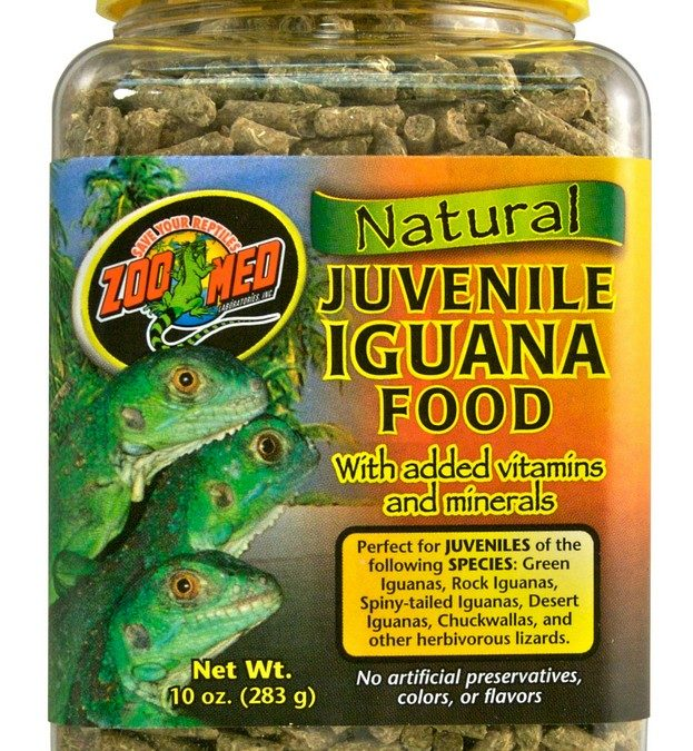 Natural Iguana Food – Juvenile Formula
