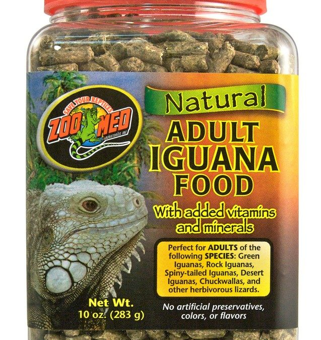Natural Iguana Food – Adult Formula