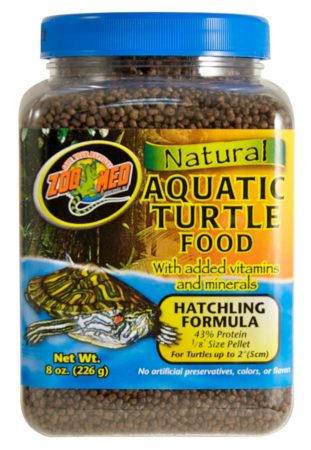 Natural Aquatic Turtle Food - Hatchling Formula